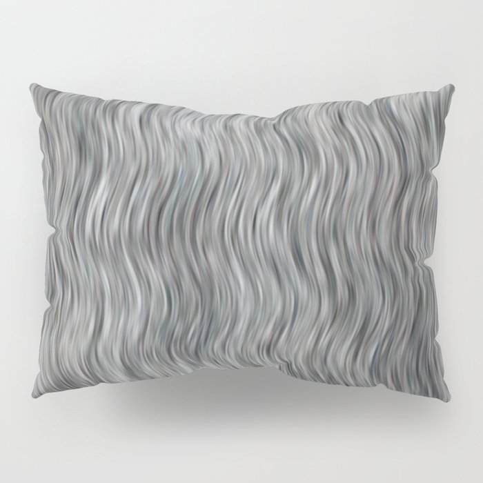 Abstract Streaks Pattern Pillow Sham