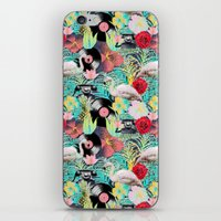 rockabilly iPhone & iPod Skins featuring rockabilly mix by kociara