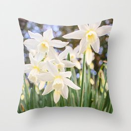 Kiss of Spring Throw Pillow