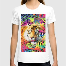 Tiger in the Jungle T-shirt