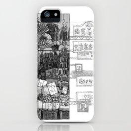 Hong Kong Series 1: Market  iPhone Case