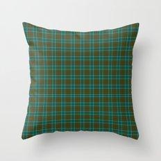 Canadian Fancy Tartan Throw Pillow