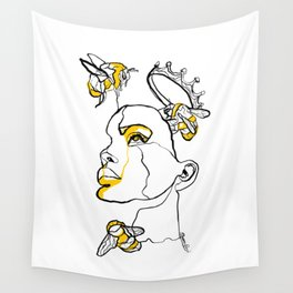 Single Line - Hivemind Wall Tapestry
