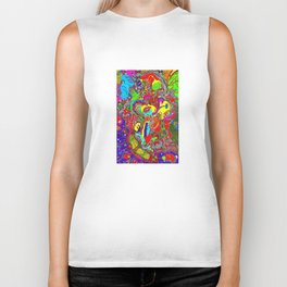 Anatomy of thought in Colour Biker Tank