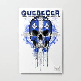 To The Core Collection: Quebec Metal Print