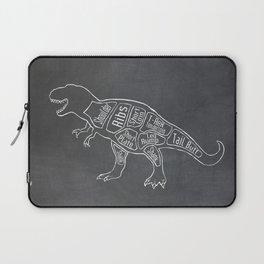 Tyrannosaurus, Rex Dinosaur (A.K.A. T REX) Butcher Meat Diagram Laptop Sleeve