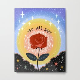 You are safe Metal Print