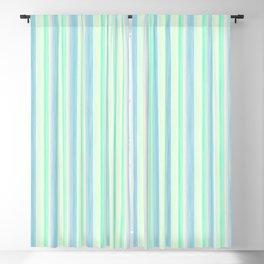 Yellow Pink Lime Scrapbook Sherbert Blackout Curtain