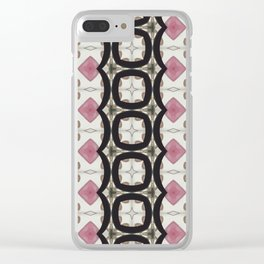 Fragment by Mariane Léger - Funky Tea Clear iPhone Case