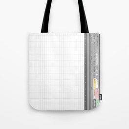 Excel Spreadsheet Tote Bag