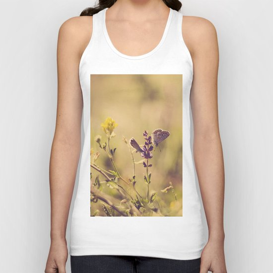 butterfly spring  Unisex Tank Top