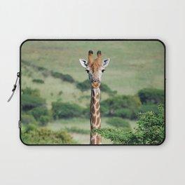 Giraffe Standing tall Laptop Sleeve