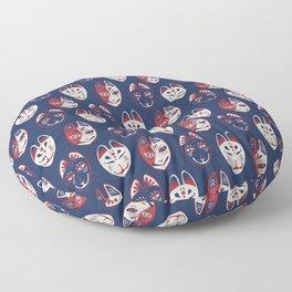 Fox Mask / Kitsune Men (狐面) Floor Pillow