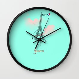 Giraffel Wall Clock