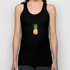 Pineapple Abstract Triangular  Unisex Tank Top