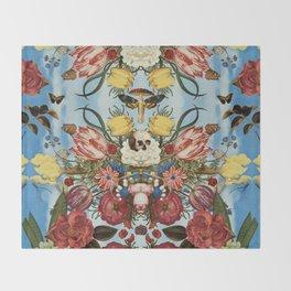Amanita muscaria Throw Blanket