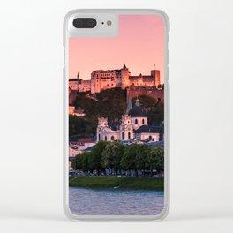 SALZBURG 01 Clear iPhone Case