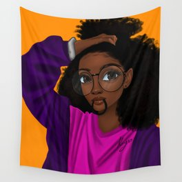 hair up Wall Tapestry