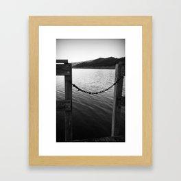 WHITE&BLACK Framed Art Print