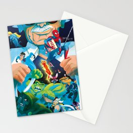 The Marvelous Mr. Lee Stationery Cards