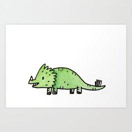 It's Dino Time Art Print