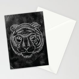 Tiger Lines Stationery Cards