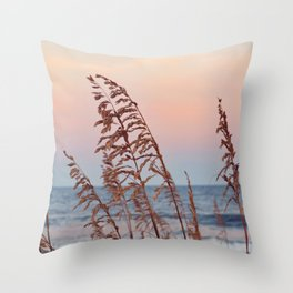 Windy Sunsets Throw Pillow