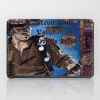 stevie nicks iPad Cases featuring Stevie Ray Vaughan by Ray Stephenson