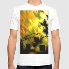 Herbstimpression. Mens Fitted Tee White MEDIUM