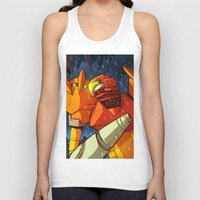 metroid Tank Tops featuring Samus (Metroid) by Peerro