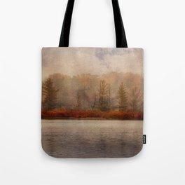 Veil of Mist Tote Bag