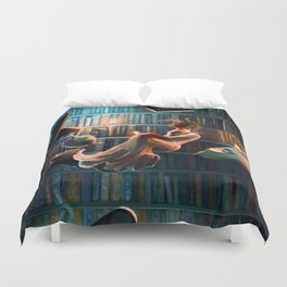 Need more than one life Duvet Cover