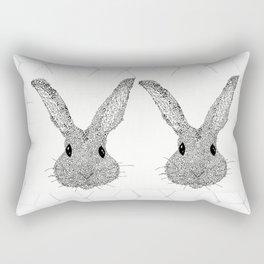 Musical Bunny Rectangular Pillow
