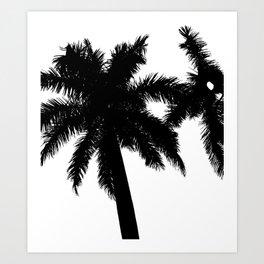 BlackPalmBeach Art Print