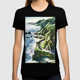 California Coast Big Sur USA T-shirt