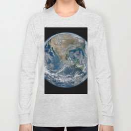 North America from Space Long Sleeve T-shirt