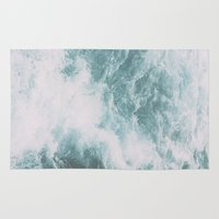 norway Area & Throw Rugs featuring Norway - Nebula by Andrej Stern