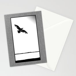 flying into the unknown Stationery Cards