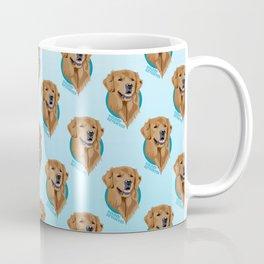 Golden Retriever Print Coffee Mug