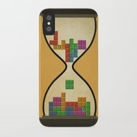 tetris iPhone & iPod Cases featuring tetris by gazonula