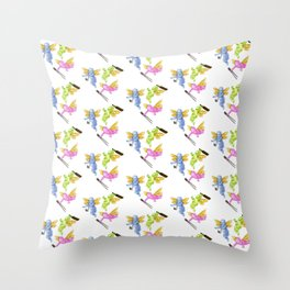 Putti Assistant Bundle Throw Pillow