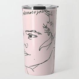 Harry Styles Drawing Travel Mug