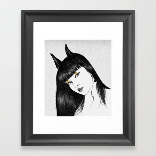 Cirque III Framed Art Print