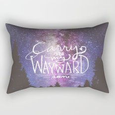 supernatural carry on my wayward son Rectangular Pillow