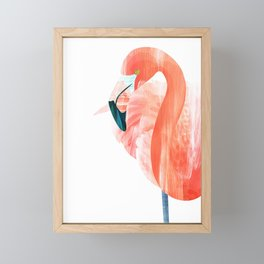 Pink Lady Framed Mini Art Print