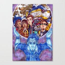 Tales Canvas Print
