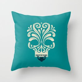 Killer Tune Throw Pillow