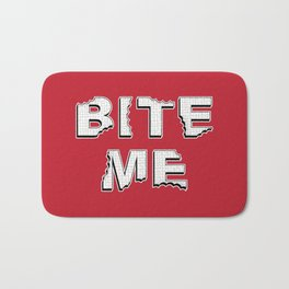 Bite Me Bath Mat