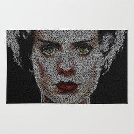 The Bride of Frankenstein Screenplay Print Rug