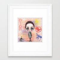 jennifer lawrence Framed Art Prints featuring Jennifer Lawrence by Joana Pereira